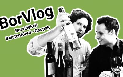 BorVlog – Borvidékek: Balatonfüred – Csopak